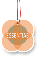 ESSENTIAE Logo am Band